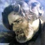 Максимилиан Александрович Волошин. Портрет кисти В.Андерса, 1927 г.